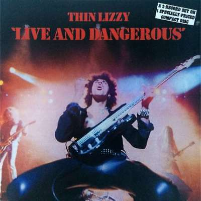 Thin Lizzy - Live And Dangerous (U.s. Pressing 1 Cd)