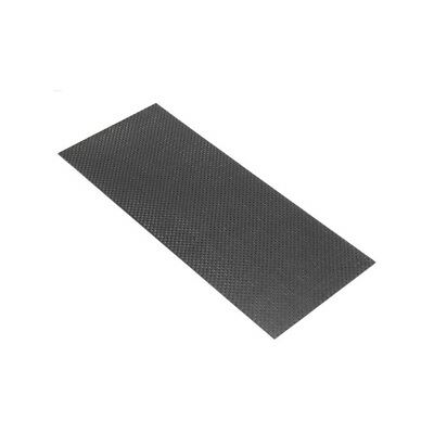 3K 200gsm 1002501mm Plain Weave Carbon Fiber Cloth Fabric