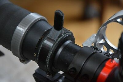 3D printed Mag//Zoom Lever for Nikko Stirling Mountmaster 4-12 X 50