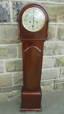Antique Mahogany Granddaughter Clock