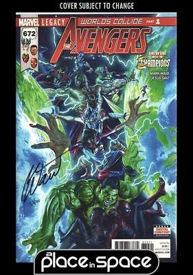 Avengers #672 - Waid Signed Df Edition  (Wk18)