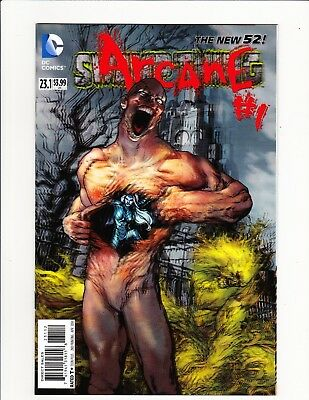 Swamp Thing #23.1 Arcane!! Rare 2Nd Print Variant 3D Cover New 52 Dc 2013 Scarce