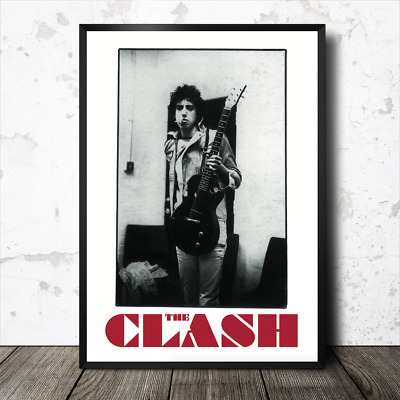JOE STRUMMER THE CLASH  POSTER ART PRINT PICTURE A3 11.7 × 16.5 INCH AMK1824