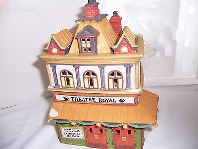 "Department 56 Dickens Village ""Theatre Royal"" #55840 MINT! RETIRED!!!"