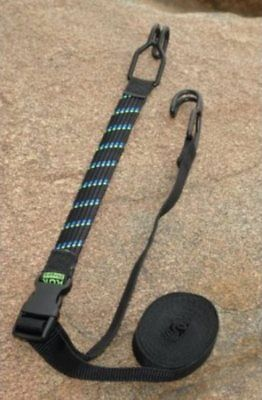 "ROK Straps 18""-5 ft Adjustable Tie Down w/Double Hooks 10113"