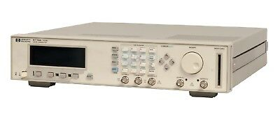 HP Agilent 8110A Pulse Pattern Generator 150 MHz Options 81103A, 81108A, 81107A