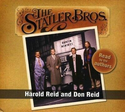 The Statler Brothers - Read By the Authors: Harold Reid & Don Reid [New CD] Boxe