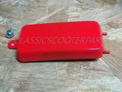 Honda Scrambler CL90 CS90 S110 S90 1964-1969 battery side RED COVER  H2375