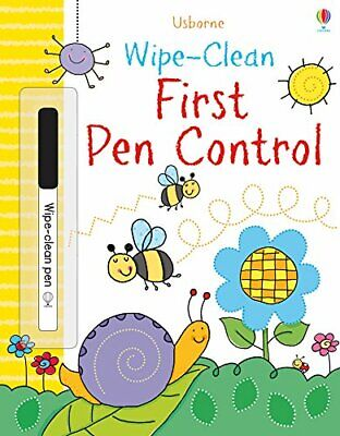 Wipe-Clean First Pen Control (Wipe-clean Books) by Sam Smith Book The Cheap Fast