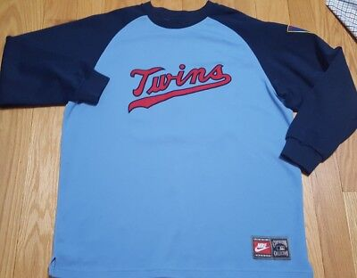 e62b58ab4f9 Rod Carew minnesota twins Nike cooperstown collection jersey size XL Baby  Blue