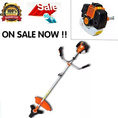 Strimmer 2,2 Kw Brush Cutter Grass Trimmer 52Cc Garden Patio Two-Stroke Warranty