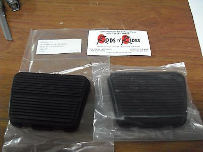 1967 1968 1969 Chevy Gmc Truck Brake And Clutch Pedal Pad Set Deluxe 71 2454