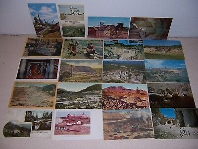 1908-1960s MINES MINING ANTIQUE & VTG POSTCARD LOT of 20 DIFF.