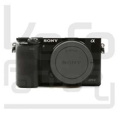 Genuino Sony Alpha A6000 Mirrorless Digital Camera Black Body Only