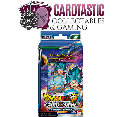 Dragon Ball Super Card Game The Awakening Starter Deck