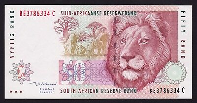 South Africa 50 Rand Banknote 1999 P-125c