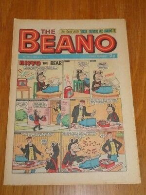 Beano #1602 31St March 1973 Dc Thomson British Weekly Comic*
