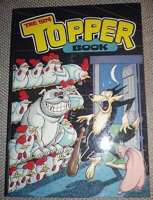 THE TOPPER BOOK 1974 Excellent Condition
