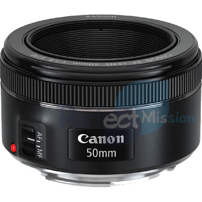 100% New .  Genuine .  Canon EF 50mm f/1.8 STM Retail Pack  + Warranty