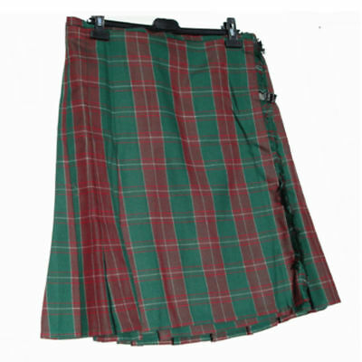 New Men's Wales Welsh Cymru Dewi Sant Casual Basic Tartan Check Plaid Kilt