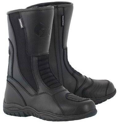 Oxford Tracker Waterproof Motorcycle Motorbike Boots Black 38-46