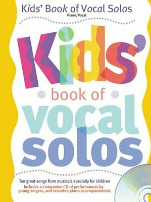 Kids' Book of Vocal Solos (Book & CD) by Various Mixed media product Book The