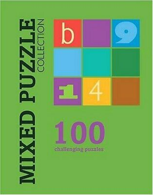 Mixed Puzzle (100 Puzzles) Spiral bound Book The Cheap Fast Free Post
