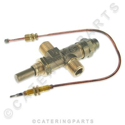 Push Button Gas Valve And Thermocouple For Burco Mfgs20Sd Hot Water Boiler