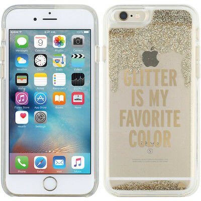 Authentic Kate Spade NY Case for iPhone 6 Plus / 6s Plus Liquid Glitter Case NEW