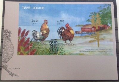 Aland - Postfris/MNH - FDC Roosters 2016