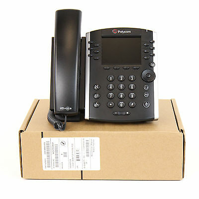 Polycom VVX 411 IP Phone - PoE (2200-48450-025) New Bulk