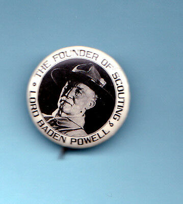 Lord Baden Powell The Founder of Scouting Badge Old and Nice Condition Circa 20s