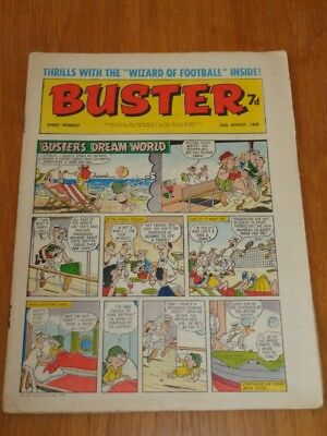 Buster 16Th August 1969 Fleetway British Weekly Comic*