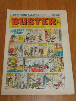 Buster 1St April 1967 Fleetway British Weekly Comic*