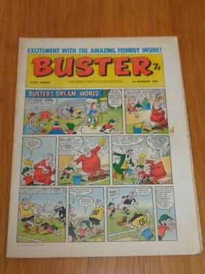Buster 1St November 1969 Fleetway British Weekly Comic*