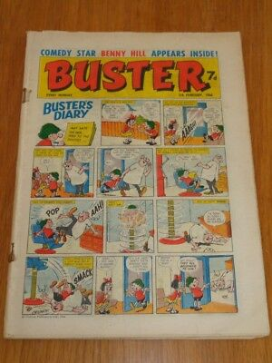 Buster 5Th February 1966 Fleetway British Weekly Comic*