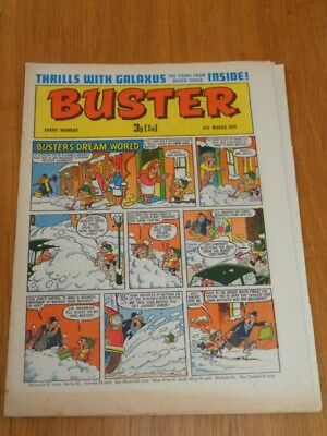 Buster 6Th March 1971 Fleetway British Weekly Comic*