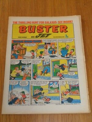 Buster And Jet 18Th December 1971 Fleetway British Weekly Comic*