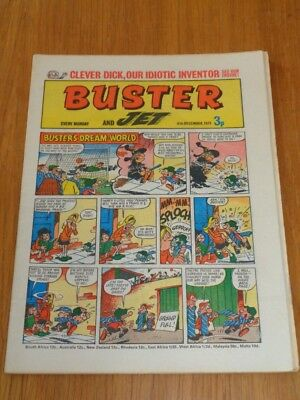 Buster And Jet 4Th December 1971 Fleetway British Weekly Comic*
