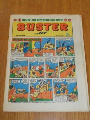 Buster And Jet 5Th May 1973 Fleetway British Weekly Comic*