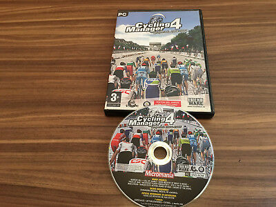 Cicling Manager 4 ** Pc Cd-Rom ** Esp Version