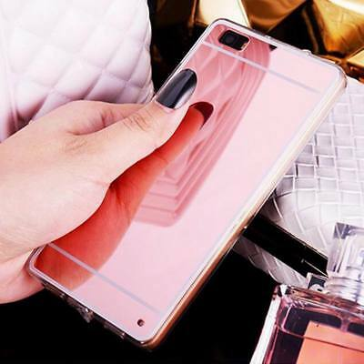 Luxury Slim Mirror Soft Clear Case Cover For Huawei P20 Pro Mate 30 Nova 3 P30