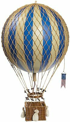 Hanging Model Hot Air Balloon Decorative Home Living Room Handmade Vintage