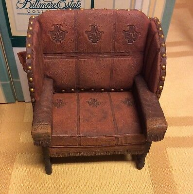 Dollhouse Miniature Billiard Room Chair Take a Seat by Raine 24029 1pc Willitts