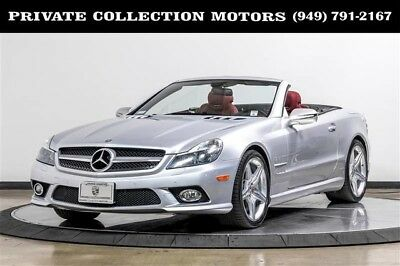 2009 Mercedes-Benz SL-Class  2009 Mercedes-Benz SL550 Silver Arrow No 1 of 550 Well Kept