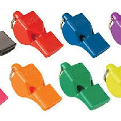 4 PACK = $4.35 per Fox 40 Classic Whistle (115dB-pealess) - in assorted colors!