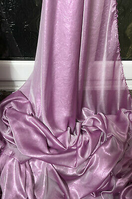 """1M NEW TWO TONE PINK  GREEN gold SHIMMER CHIFFON DRESS  FABRIC 58/"""" WIDE"""