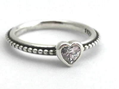 a77b420fa ... pink synthetic sapphire ring 65ef0 b3941; aliexpress authentic pandora  one love ring clear cz 190896cz 48 size 4.5 new 50348 6b3d5