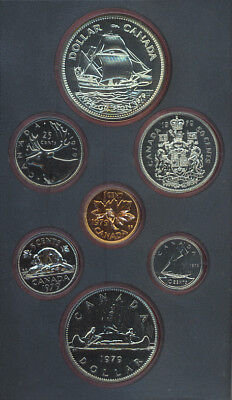 1981 Canada Double Dollar Proof Set with COA