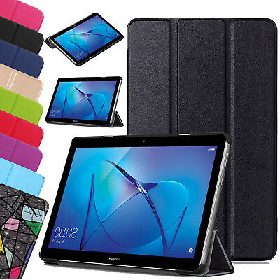 Leather Slim Smart Stand Case Cover For Huawei MediaPad T3 7.0  8  10 Tablet UK